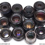 12 Lenses - Introduced between 1961 and 2011