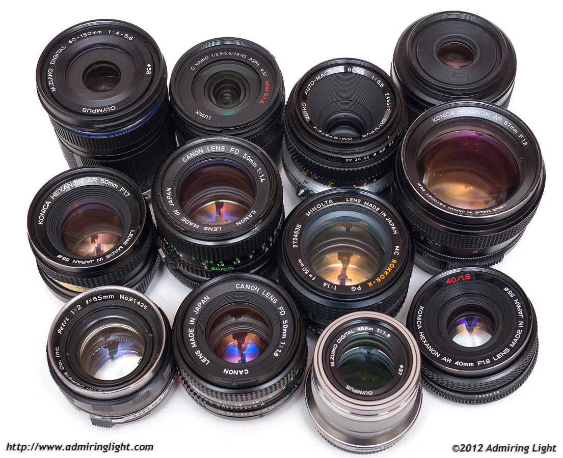 12 Lenses Spanning 50 Years Do Battle Page 2 Of 2