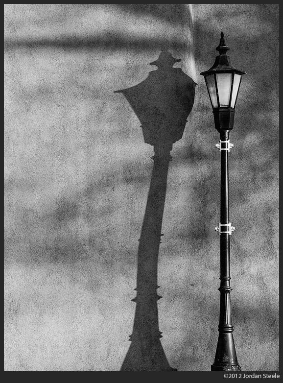 Bent Light, Santa Fe, NM - Panasonic GX1 with Olympus 45mm f/1.8