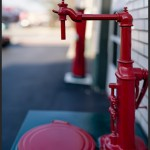 Oil Machine - Panasonic GX1 with Olympus 45mm f/1.8: 18 image stitch, equivalent to 35mm f/1.4 on Full Frame