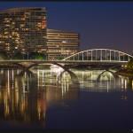 Bridges of Columbus - Olympus OM-D E-M5 with Olympus 45mm f/1.8, ISO 640, f/1.8, 1/6s