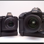Olympus OM-D E-M5 and the Canon 1Ds Mark II