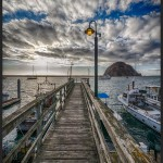 Pier, Morro Bay, CA - Panasonic GH2 with 7-14mm, Processed in Nik HDR Efex Pro 2