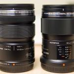 Olympus 12-50mm f/3.5-6.3 and Olympus 60mm f/2.8 Macro