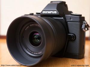 Olympus OM-D E-M5 with Sigma 19mm f/2.8 EX