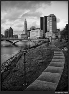 Path to Columbus - Olympus 15mm f/8