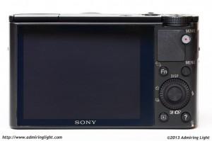 Sony RX100 - Minimalist back