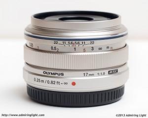 Olympus M.Zuiko 17mm f/1.8