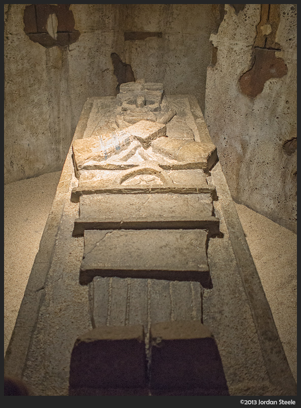 Sarcophagus - Panasonic GH3 with Olympus 17mm f/1.8, ISO 1600