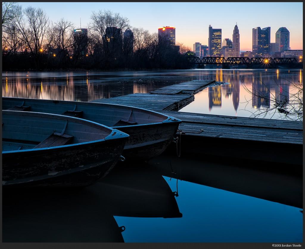 The Dock at Dawn - Fujifilm X-E1 with Fujinon 18-55 f/2.8-4