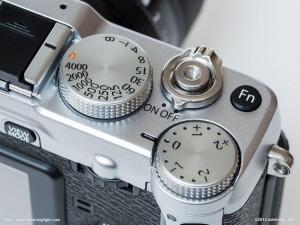 Top dials - Fujifilm X-E1