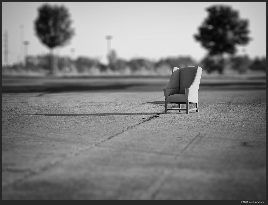 Abandoned Chair - Day #1