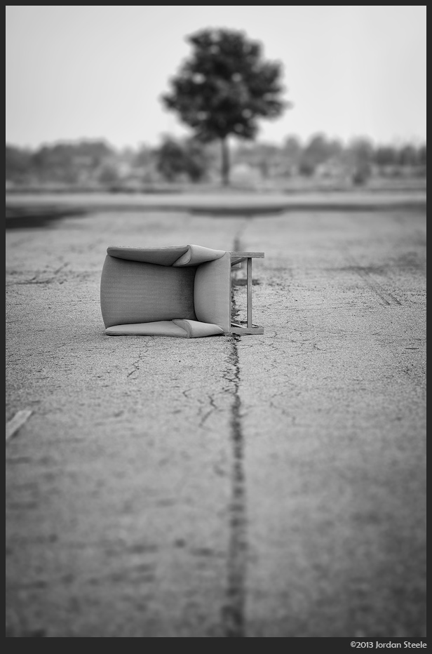 Abandoned Chair - Day #2