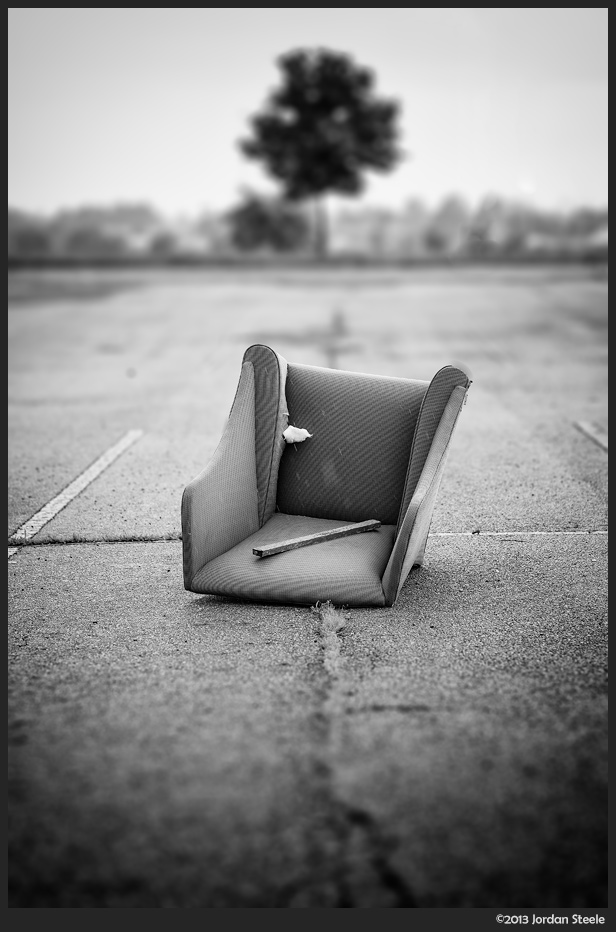 Abandoned Chair - Day #17