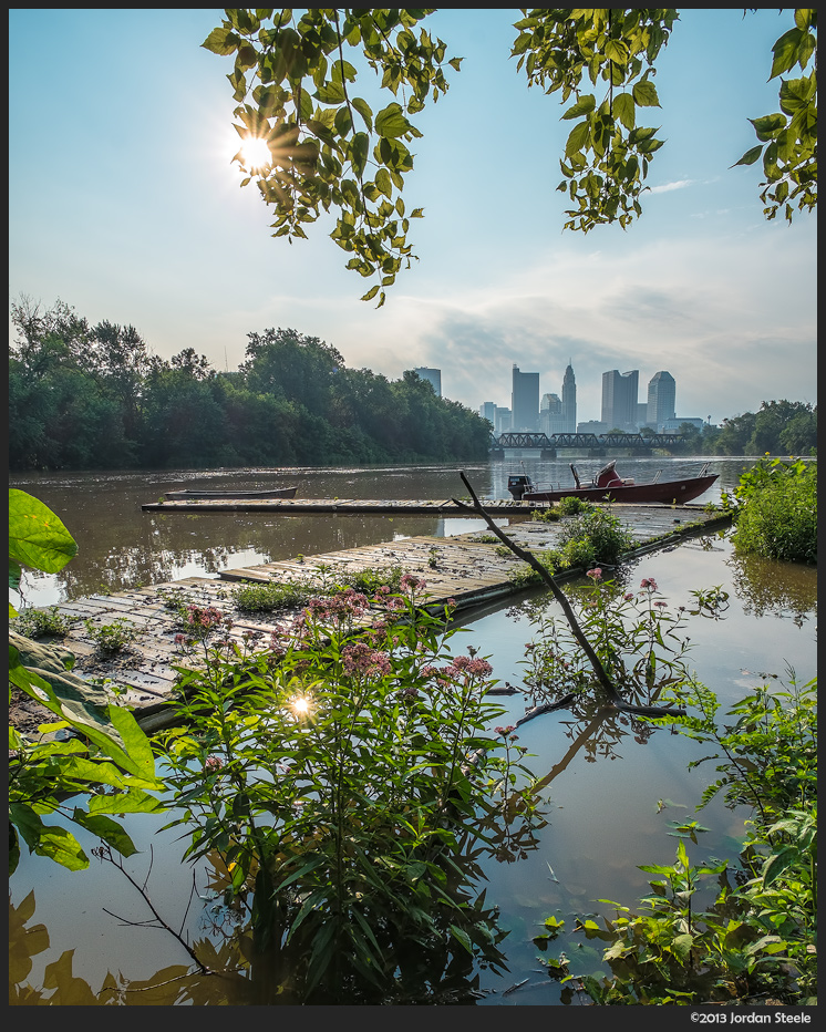 Scioto River - Columbus, OH - Fujifilm X-E1 with Zeiss Touit 12mm f/2.8