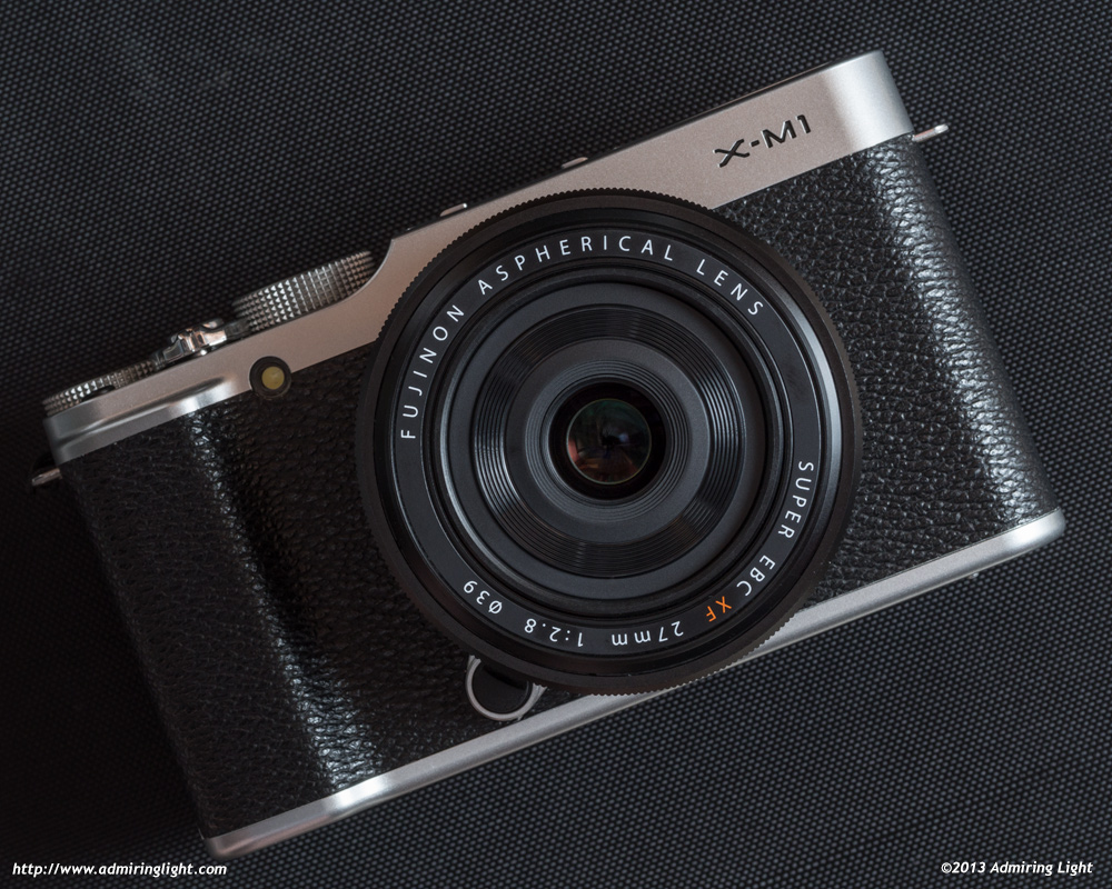 Fujinon XF 27mm f/2.8 on the Fujifilm X-M1