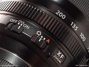 Fuji 55-200mm f/3.5-4.8 Controls