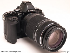 The Olympus 75-300mm II on the Olympus OM-D E-M5