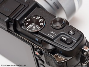 Olympus E-P5 - Top Plate