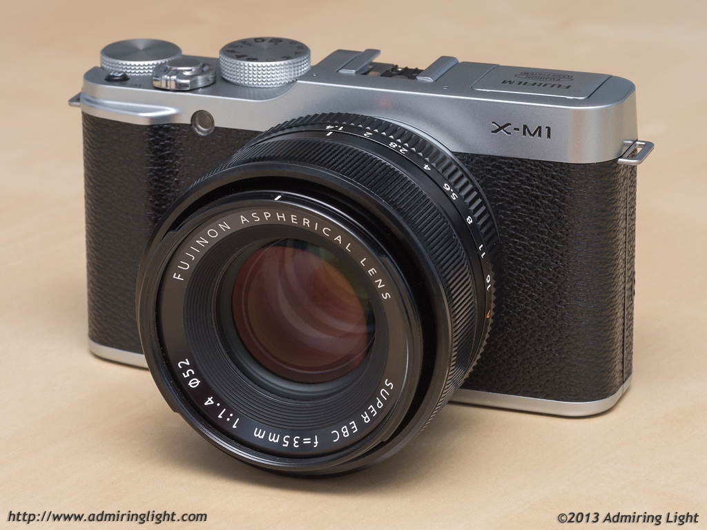 review fujifilm x m1 admiring light