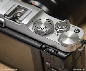 Fujifilm X-M1 - Top Controls