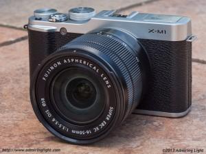 Fujifilm X-M1 with Fujinon 16-50mm