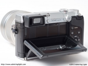 Tilting Rear Screen on the Panasonic GX7