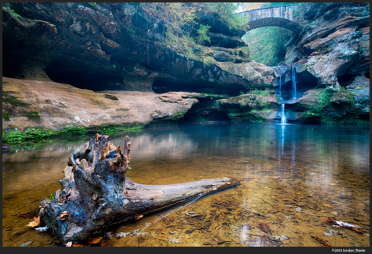 Upper Falls - Hocking Hills State Park, OH - Fujifilm X-E1 with Fujinon XF 14mm f/2.8