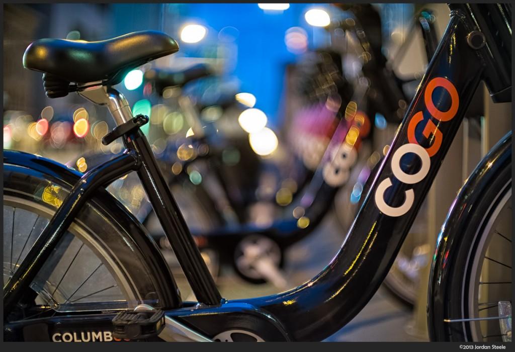Bikes - Fujifilm X-E2 with Canon FL 55mm f/1.2 + Speed Booster @ ISO