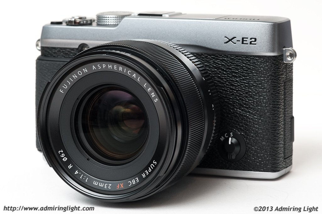 Fujinon XF 23mm f/1.4 R on the Fujifilm X-E2