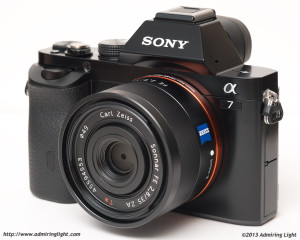 Sony A7 - Front