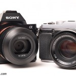Sony A7 and the Fujifilm X-E2