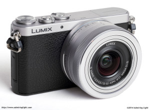 Panasonic Lumix DMC-GM1 with the 12-32mm f/3.5-5.6, collapsed