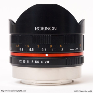 Rokinon 8mm f/2.8 Fisheye
