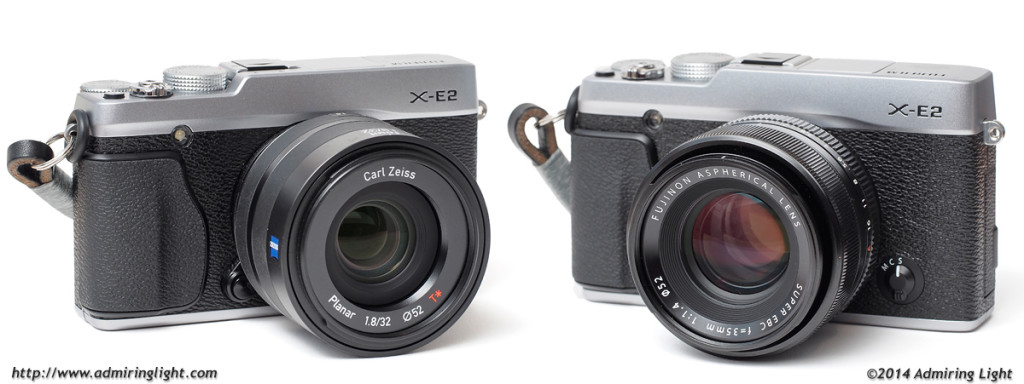 Zeiss Touit 32mm f/1.8 vs. Fujifilm Fujinon XF 35mm f/1.4 R