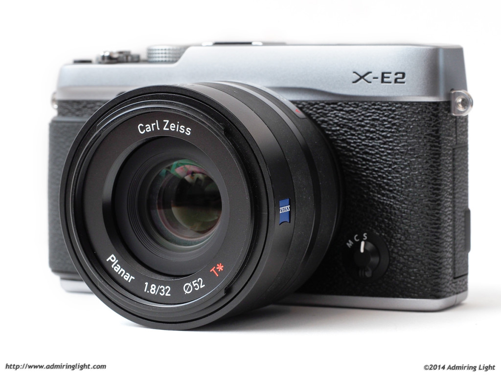The Zeiss Touit 32mm f/1.8 Planar T* on the Fujifilm X-E2