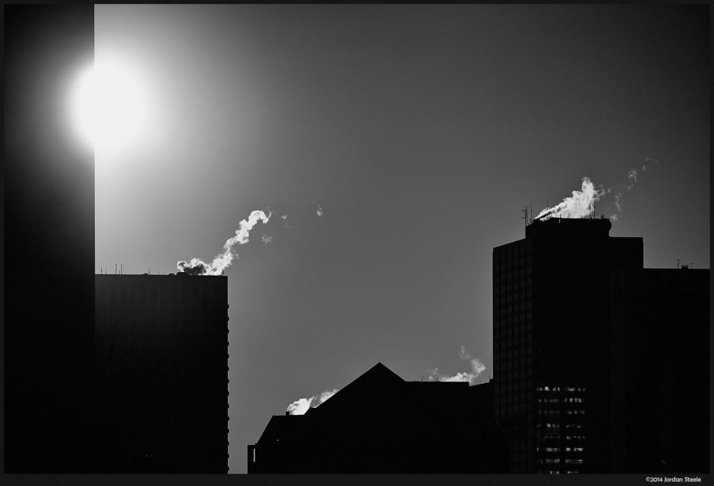 Black Sunrise - Fujifilm X-E2 with Fujinon XF 55-200mm f/3.5-4.8 @ 200mm, f/6.3