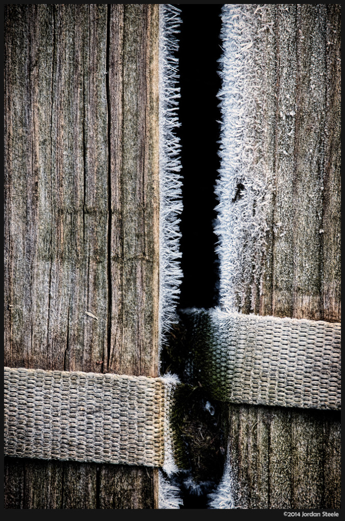 Frost on the Dock - Fujifilm X-E2 with Fujinon XF 55-200mm f/3.5-4.8 @ 200mm,