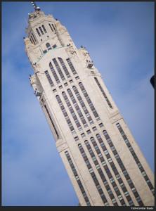 LeVeque Tower - Panasonic Leica 42.5mm f/1.2 @ f/1.2