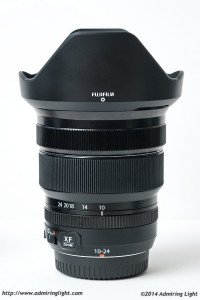 The 10-24mm with the included lens hood