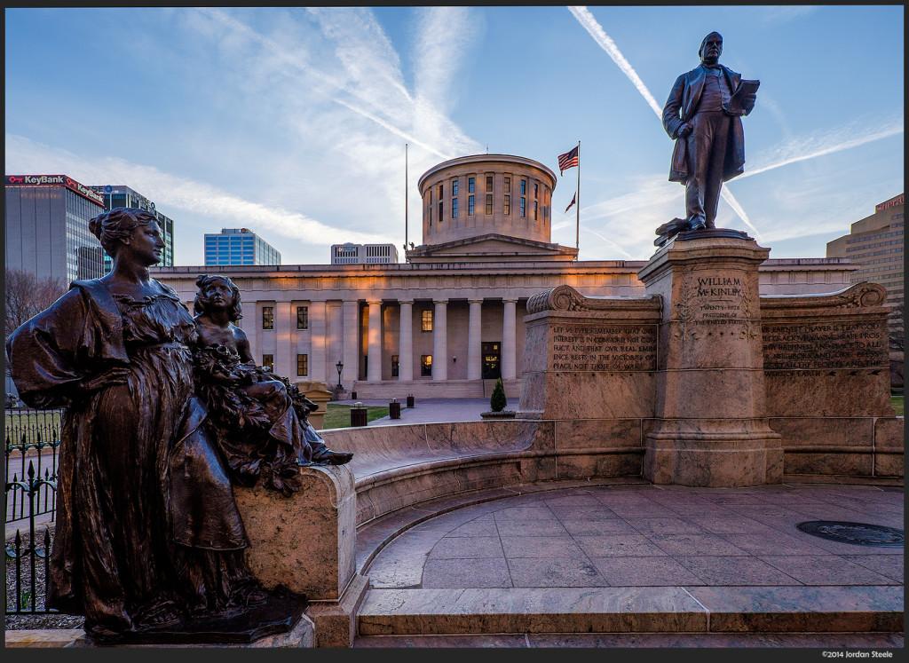McKinley Statue, Columbus, OH - Fujifilm X-E2 with Fujinon XF 10-24mm f/4 R OIS @ 12mm