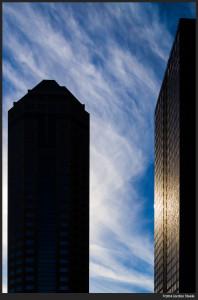 Skyscraper Sky - Olympus OM-D E-M5 with Olympus 25mm f/1.8 @ f/4