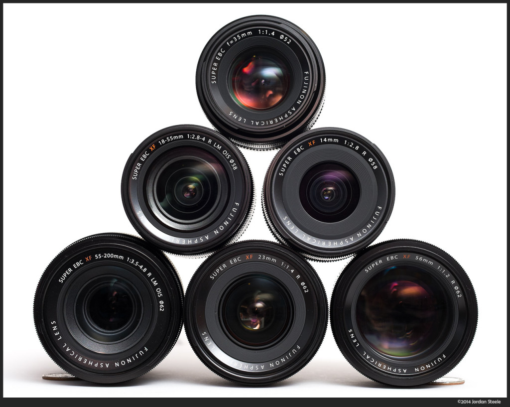 Some of my current Fuji Lenses