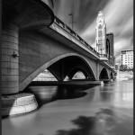 Broad Street Bridge, Columbus, OH - Fujifilm X-E2 with Fujinon XF 14mm f/2.8 @ f/22, 3 minutes 30 seconds