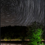 Star Trails, Lake Logan, Ohio - Fujifilm X-T1 with Fujinon XF 14mm f/2.8R @ ISO 800, f/2.8, 47.5 minutes (95 exposures at 30s)