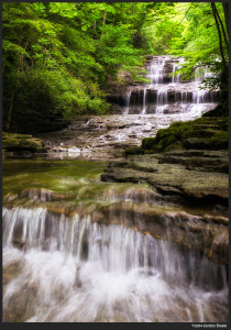 Fallsville Falls, OH - Sony NEX-6 with Zeiss 16-70mm f/4 ZA OSS @ 38mm, f/13, 1/8 second handheld