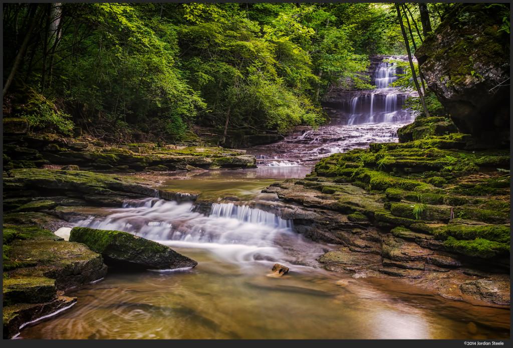 Fallsville Falls - Sony NEX 6 with Sigma 30mm f/2.8 @ f/11
