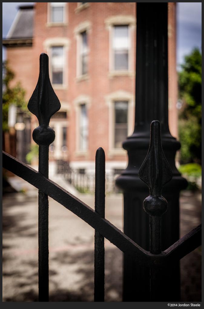 Mansion Gate - Sony NEX-6 with Sigma 30mm f/2.8 DN Art @ f/2.8