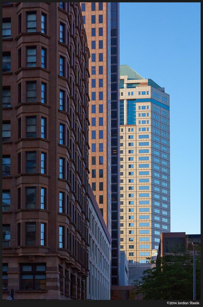 Morning Highrises - Sony NEX 6 with Sigma 30mm f/2.8 @ f/5.6