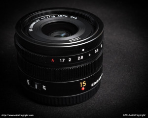 Panasonic Leica 15mm f/1.7 Summilux